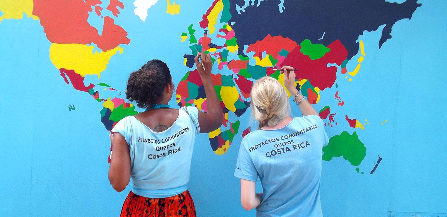 Im Ausland Gutes tun und sparen - in Costa Rica, Thailand und Peru!